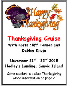 Thanksgiving Cruise