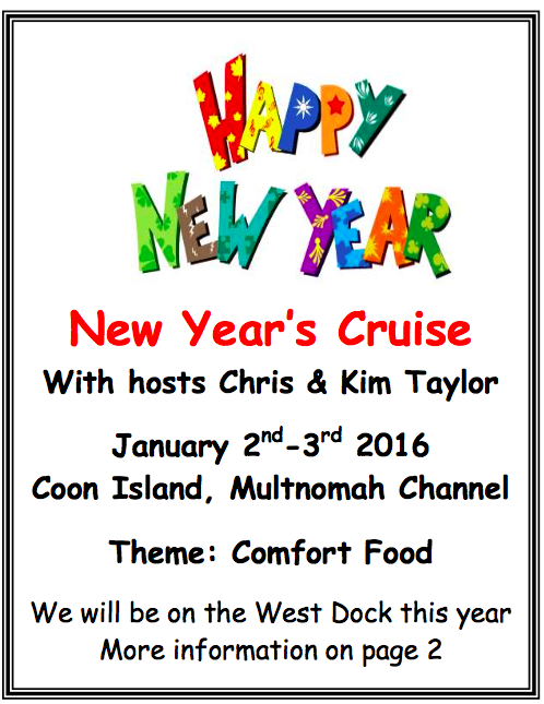 New Years cruise - sauvie island yacht club