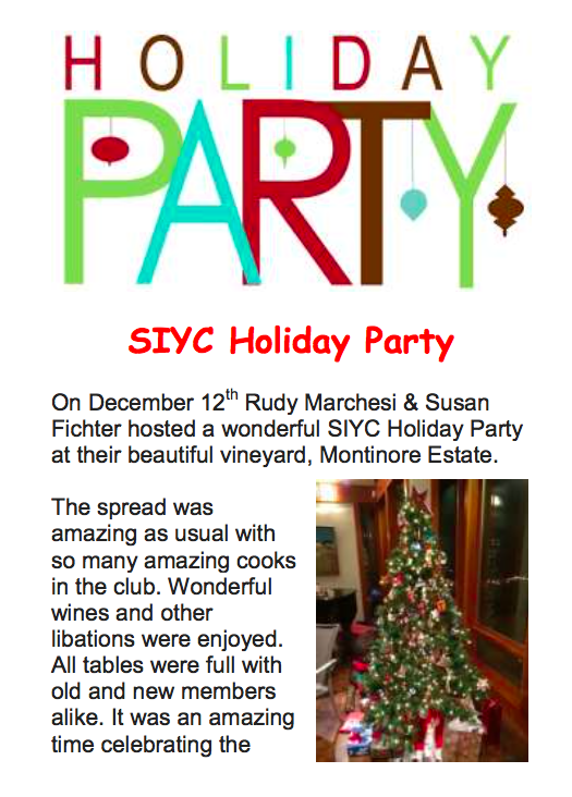 December HolidayParty - sauvie island yacht club