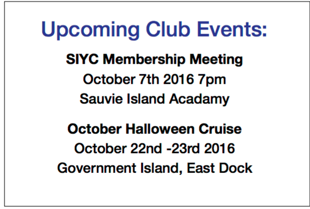 SIYC - October Events